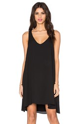 Feel The Piece Ithaca V Neck Tank Dress Black