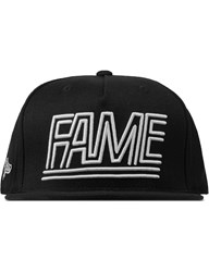 Hall Of Fame Black Lines Cap
