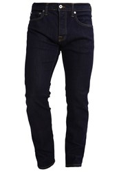 Edwin Slim Fit Jeans Red Listed Selvage Denim Blue