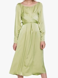 Ghost Cassie Dress Chartreuse