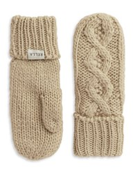 Rella Cable Knit Mittens