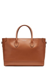 Ralph Lauren Collection Leather Tote Brown