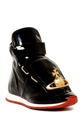 Vivienne Westwood 3 Tongue Trainer Sneaker Black