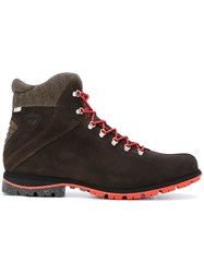 Rossignol Chamonix Boots Suede Polyester Rubber Brown