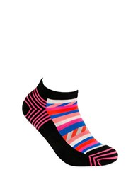 Happy Socks Cotton Blend Printed Black