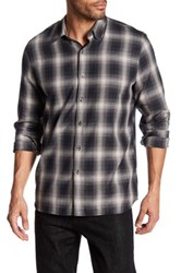 Peter Werth Hale Plaid Trim Fit Shirt Blue