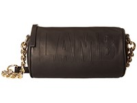 L.A.M.B. Iggi Black Cross Body Handbags