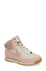 The North Face Back To Berkeley Redux Waterproof Boot Misty Rose Vintage White
