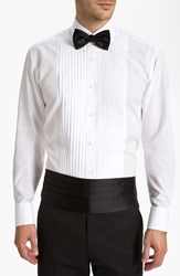 Hugo Boss Cummerbund And Bow Tie Black