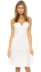 Kendall Kylie Lace Party Dress White