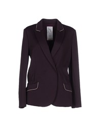 Uniqueness Suits And Jackets Blazers Women Deep Purple