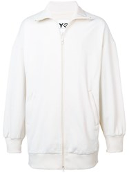 Y 3 Oversized Track Jacket White