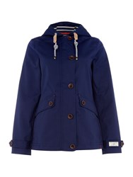 Joules Coast Waterproof Hooded Jacket Navy