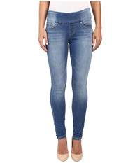 Jag Jeans Nora Pull On Skinny Freedom Knit Denim In Vintage Classic Vintage Classic Women's Blue