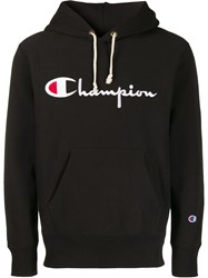 Champion Logo Embroidery Hoodie 60