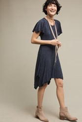 Dolan Melanie Knit Dress Blue Slate