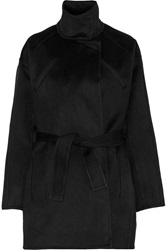 Iro Wool Felt Coat Black