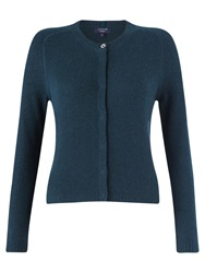 Jigsaw Cashmere Grace Cardigan Deep Teal
