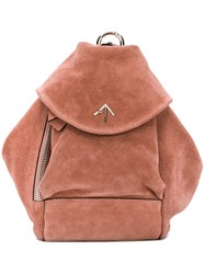 Manu Atelier Fernweh Backpack Pink And Purple