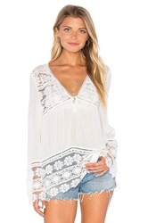 Spell And The Gypsy Collective Sienna Lace Top White