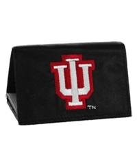 Rico Industries Indiana Hoosiers Trifold Wallet Black