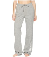 Life Is Good Evolved Classic Lig Fleece Lounge Pant Heather Gray