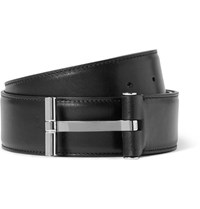 Tom Ford 4Cm Black Leather Belt Black