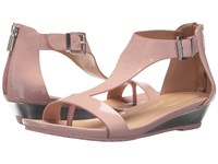 Kenneth Cole Reaction Great Gal Rose Patent Sandals Pink