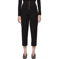 Carven Black High Waisted Trousers