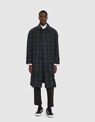Paa Plaid Trench Coat Blackwatch