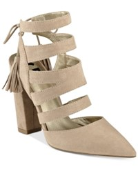 G By Guess Galway Open Back Block Heel Sandals Women's Shoes