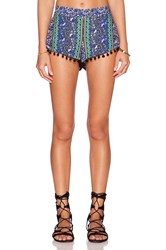 Gypsy 05 Pom Pom Short Royal