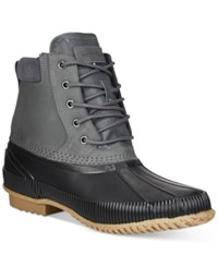 Tommy Hilfiger Charlie Duck Boots Men's Shoes Grey