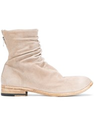 The Last Conspiracy Moreno Boots Suede Leather Nude Neutrals