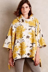 Saturday Sunday Sunblooms Poncho Yellow