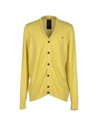 Raw Correct Line By G Star Cardigans Yellow
