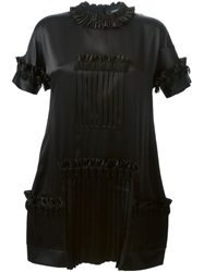 Dsquared2 Pleated Dress Black