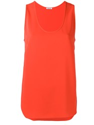 P.A.R.O.S.H. Sleeveless Blouse Red
