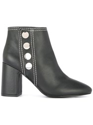 Senso Snap Button Jace Boots Black