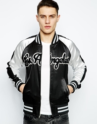 Joyrich Reversible Jacket With Car Print Black