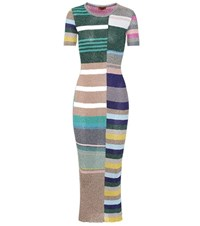 Missoni Knitted Brocade Dress Multicoloured