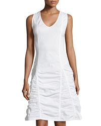 Xcvi Fleur Sleeveless Sheath Dress White