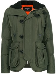 Dsquared2 Padded Down Jacket Green