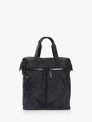 Knomo Santiago Tote Backpack For Laptops Up To 14 Black Camouflage