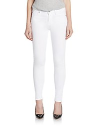 7 For All Mankind Gwenevere Skinny Jeans White