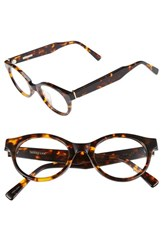 Derek Lam Women's 45Mm Glasses Havana Tortoise