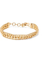 Elizabeth Cole Gold Plated Choker One Size