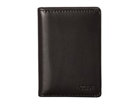 Tumi Chambers Gusseted Card Case Black Credit Card Wallet