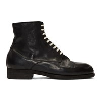 Guidi Black Horse Vintage Ball Boots