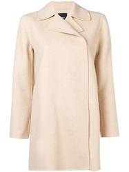 Theory Off Centre Jacket Neutrals